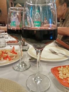 My favourite thing to capture #wine #dinner #aurangabad #food #foodgasm