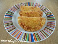 Sofficini casalinghi (ricetta tradizionale e bimby)