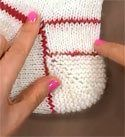 garter stitch short row heel, from 'Clever Lithuanian Heels' blog post - love the idea of the added cushion of garter stitch, may have to try this on my next pair