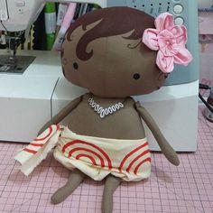 Moana Toy!!!!❤ Sim!!! Tem aqui, no meu Baú! #lilitemnobaú #tildatoy #fattoamano #bonequinhas #moanatoy