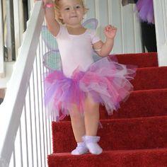 Fairy wings and sparkle tutu