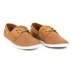 Caspa Cupsole Deck Shoe Tan, $105, now featured on Fab.