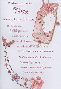 Birthday wishes for my niece