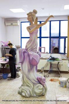 Polystyrene Decorative Fairy