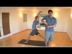 Foundation Training Better Posture in 4 minutes 3 Basic Foundation Exercises - YouTube