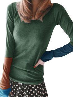 Allegra K Thumb Hole Sleeve Scoop Neck Autumn Shirt for Women Allegra K http://www.amazon.com/dp/B00HLDNW36/ref=cm_sw_r_pi_dp_EkvMtb1A0F34N1D5