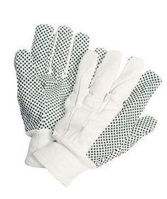 Ein Mehrzweck-Handschuh für DIY & garten-ringelblume - Knitted Handgelenk - PVC Griff Dots - Einheitsgröße: große