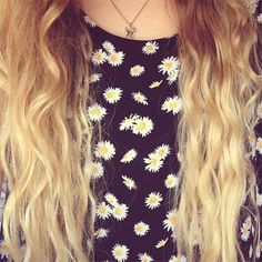 A combination of two long hair and a daisy top :)