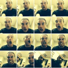 mike fuentes left his phone in rian's dressing room...