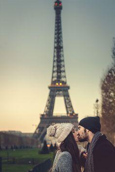 Kiss me, we're in Paris… - (by Jose Sospedra)
