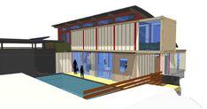 Contemporary Shipping Container Home Design by Tony DeJesus, AI Kauai, HI