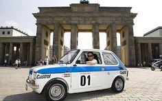 Polski Fiat 126, Rally Version Fiat 126, Racing Seats, Fiat Abarth, Steyr, Roll Cage, Rally Car, Car In The World, Pedestrian, Car Ins