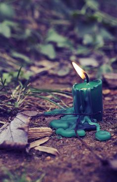 Green is the color of Nature and rejuvenation. Burning a green candle stimulates finances, brings good fortune, prosperity, luck & success! It's magic is renewal and balance. It can also be used to counteract greed & jealousy.