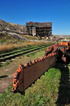 Atlas Coal Mine Tipple & Drill, Drumheller, Alberta, Canada