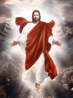 The perfect Jesus God Dios Animated GIF for your conversation. Pictures Of Jesus Christ, Religious Pictures, Christian Artwork, Christian Images, Jesus Our Savior, Jesus Is Lord, Cross Wallpaper, Bible Images, Our Father In Heaven