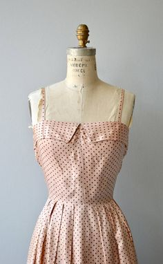 Vintage 1950s pale blush silk dress with narrow shoulder straps, fitted waist, knee length skirt and matching short sleeves, button front jacket. --- M E A S U R E M E N T S ---  fits like: extra small DRESS bust: 32-34 waist: 25 hip: free length: 45  JACKET shoulder: 15 waist: 26 length: 17 brand/maker: Syd Juniors condition: excellent  to ensure a good fit, please read the sizing guide: http://www.etsy.com/shop/DearGolden/policy  ✩ layaway is available for this...
