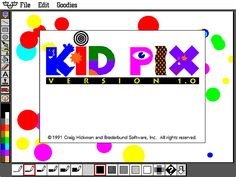 Kid Pix! Wasted hours on the computer when I was grounded from the Internet lol