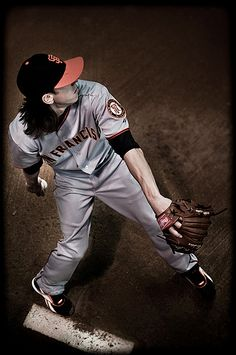 Tim Lincecum. One of my favorite baseball players of all time. #pitcher #Giants