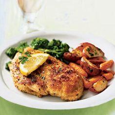 Chicken Scaloppine with Broccoli Rabe Recipe