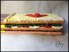 Gabarra. Super sandwich para Bar Venecia.