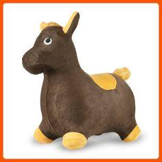 Bouncy Inflatable Real Feel Hopping Horse - Toys for little kids (*Amazon Partner-Link)