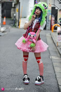 From Mode to Lolita, the 100 coolest Harajuku looks of 2012 Harajuku Mode, Harajuku Japan, Harajuku Girls, Harajuku Fashion, Kawaii Fashion, Lolita Fashion, Cute Fashion, Harajuku Style, Tokyo Street Fashion