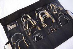 knitting patterns , Circular Knitting Needle Case Pattern : Circular Knitting Needle Case Pattern