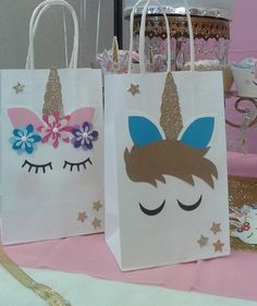 These are amazing goodie bags for any party!! Pictures are printed on premium card stock and with a very strong adhesive. Strong glitter paper. Bags are a great size and could fit so many party favors!!!! I used them to give party favors AND piñata!!!! The bags measure 5.24 x 3.27