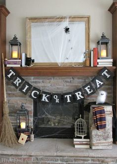 "If you've been reading my blog for long then you have probably figured out that I am crazy for all things burlap & twine! Add this to my love of decorative banners and you have the inspiration for today's project. It is a black jute ""Trick or Treat"" banner with creamy white block lettering. It...Read More »"