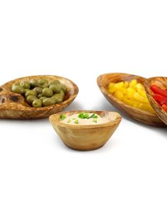 Set Tapas aus Olivenholz   treevoli