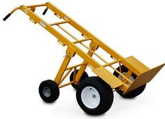 Hand Trucks R Us - American Cart Mega Hauler Hand Truck with Rear Folding Wheels | $699.95