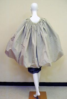 Evening dress as a cape  Cristobal Balenciaga (Spanish, 1895–1972)