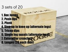 Box Jumps Anyone? Try this Plyo box workout! Plyo Workouts, Plyometric Workout, Plyometrics, At Home Workouts, Box Jumps, Endurance Training, Speed Training, Box Jump Workout, Plyo Box