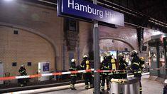 Am Hamburger Hauptbahnhof ist am Dienstagmorgen ein Feuer in einem Lagerraum am Bahnsteig ausgebrochen.