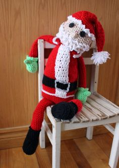 Free Crochet Connection: SANTA CLAUSE