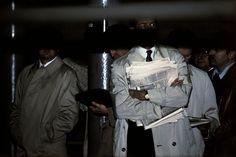 USA. New York City. 1980. Subway