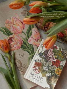 La maison du bonheur: Botanical studies. Tulip.