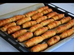 BEĞENİ REKORU KIRAN NİŞASTALI ÇITIR BÖREK TARİFİ ( HAZIR YUFKADAN EL AÇMASI GİBİ) - YouTube My Favorite Food, Favorite Recipes, Turkish Recipes, Ethnic Recipes, Puff Pastry Recipes, Hot Dog Buns, Iftar, Finger Foods, New Recipes