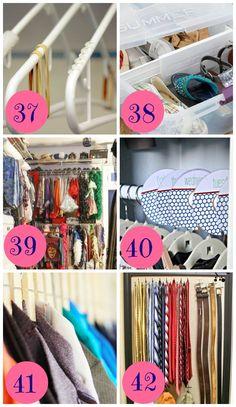 12 Ways to Organize your Bedroom