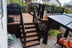 Pool deck and patio ideas images. We specialise in pool deck and patio installation. Patio Railing, Deck With Pergola, Patio Roof, Pergola Patio, Pergola Ideas, Patio Ideas, Black Pergola, Pergola Plans, Pergola Kits