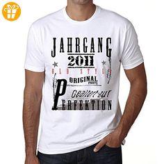 2011, geburstag tshirt, jahrgang t-shirt, geschenke tshirt - Shirts mit spruch (*Partner-Link)