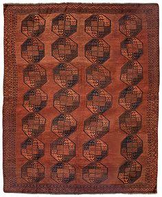 Carpets Auction - A WOOL FILPAYA CARPET - AFGHANISTAN