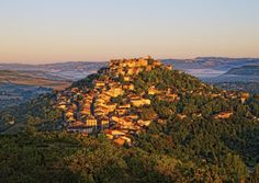 Cordes sur Ciel is a typical medieval bastide town from the former Midi-Pyrénées region. Canal Du Midi, Destinations, Languedoc Roussillon, Pyrenees, Most Visited, Pilgrimage, World Heritage Sites, Countryside, Guide