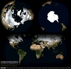 A Breathing Earth Infographic
