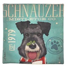 Ycomi Retro Cute Schnauzer Terrier Dog Pet Home Decorative Cotton Linen Pillow Case YComi http://www.amazon.com/dp/B01769R16S/ref=cm_sw_r_pi_dp_EO0wwb04Z0JX4