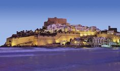My Hometown. Peñiscola, I miss you!!  One of the most beautiful castles in Spain and the world. Always lots of tourism. I had the best Spanish Paellas ever. Great gourmet food.