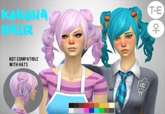 Image result for sims 4 ponytail cc