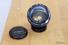 ban 2 lens Canon va Minolta 1.2