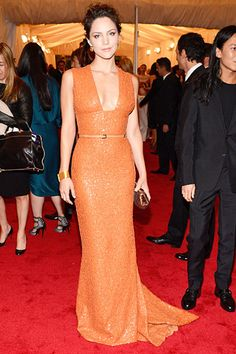 A major trend: orange on the red carpet - here's how it's done!