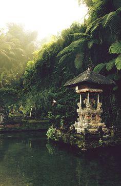 Balinese temple, bali, indonesia.